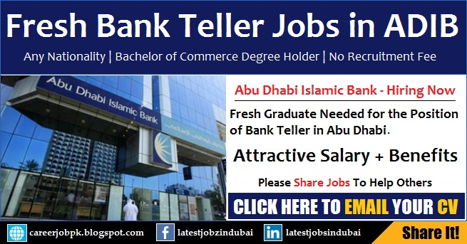 Abu Dhabi Islamic Bank (ADIB) Careers and Jobs