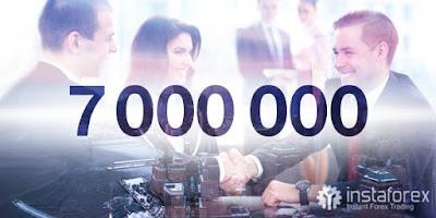 7 juta pelanggan instaforex