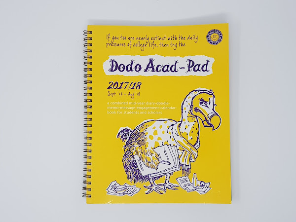 Giveaway: Dodo Acad-Pad Mid Year Diary
