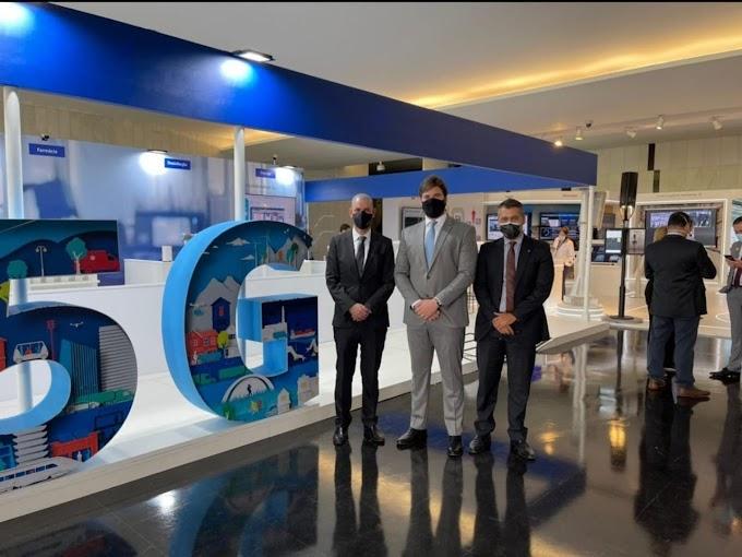 TECNOLOGIA: Bruno prestigia exposição em Brasília e garante que Campina Grande será a primeira cidade brasileira a receber tecnologia 5G