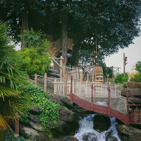 La Cabane des Robinson Disneyland Paris