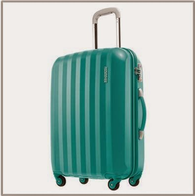 American Tourister Teal Spinner