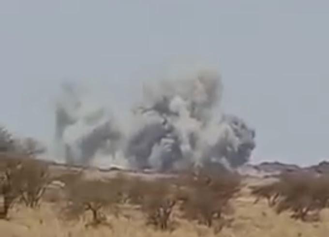 🔴 فيديو |  انفجار قوي في منطقة أوسرد جنوب الصحراء الغربية.