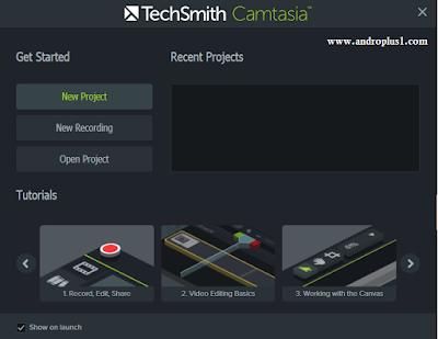 تحميل برنامج camtasia studio 2019 للمونتاج