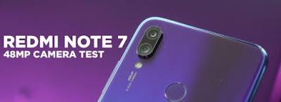 Xiaomi Redmi Note 7 Kamera