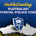 Understanding Australian National Police Check #infographic