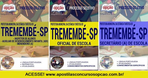 Apostila Prefeitura de Tremembé Concurso 2018