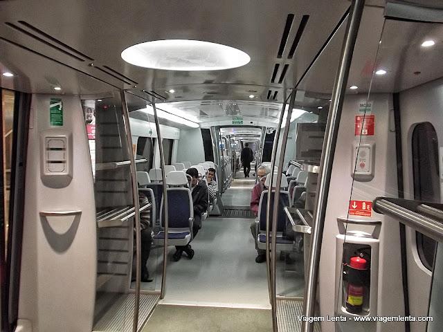 Express Airport Metro em Delhi: 1º mundo