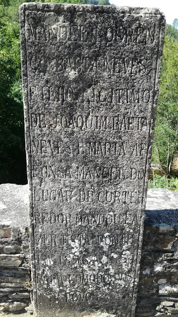 escrita em pedra