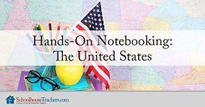 Hands-On Notebooking The United States Logo from SchoolhouseTeachers.com