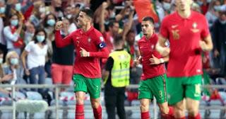 قاد كريستيانو رونالدو البرتغال لاكتساح لوكسمبورغ في تصفيات كأس العالم