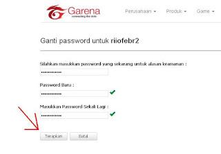Cara Ganti Password PB