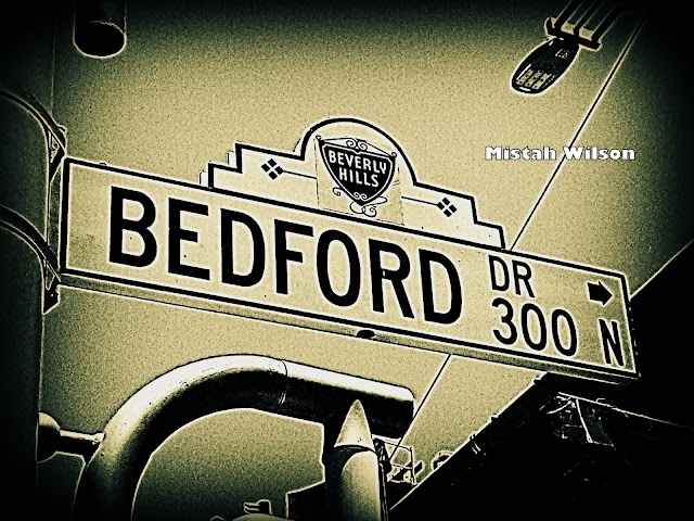 Bedford Drive, Beverly Hills, California by Mistah Wilson