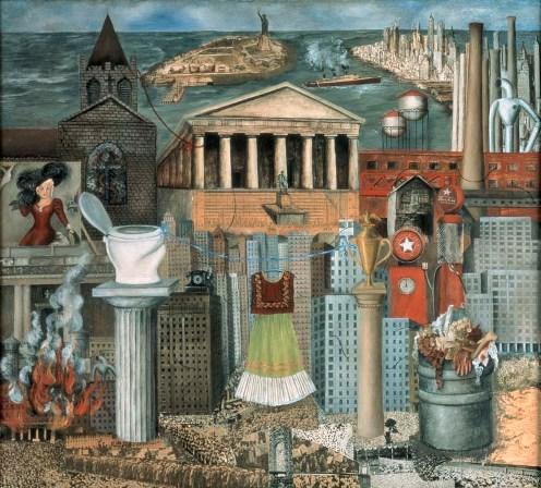 Allá Cuelga mi vestido o Nuvea York (1933)
