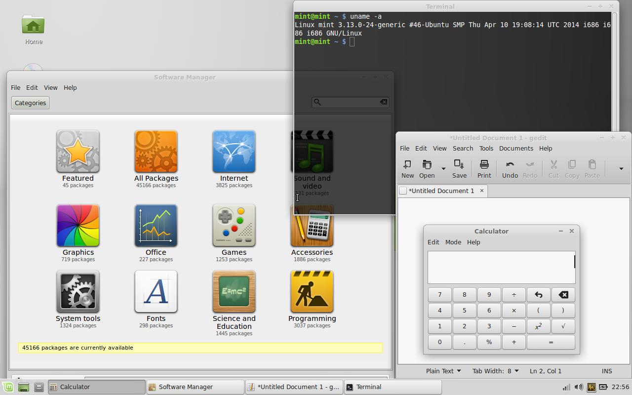 Linux Mint 17 Xfce quick screenshot tour - Linux notes from DarkDuck