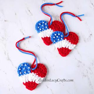 Free Americana crochet patterns