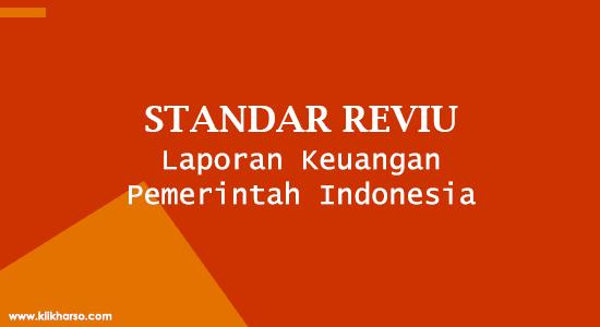standar reviu laporan keuangan pemerintah