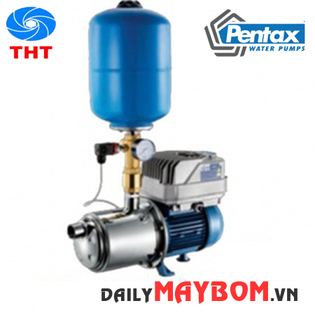 Giới thiệu máy bơm tăng áp dân dụng Pentax CMT 160/00 230 + EPIC 1.5 HP giá rẻ