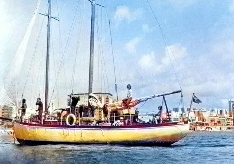 Lucette adını verdikleri 13 metre uzunluğundaki uskunalarıyla denize açılmışlardı.