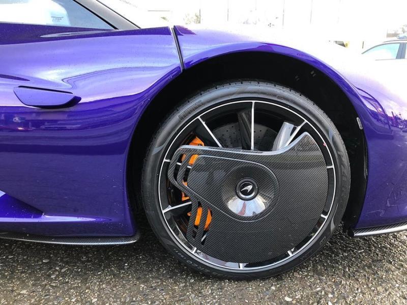 Ngắm 'tuyệt tác' Purple McLaren Speedtail