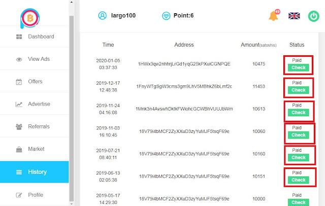 أفضل موقع لربح البتكوين مجانا وبإثبات السحب ⏐ Coinpayu Payement Prof