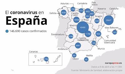 l'Espagne dépasse le fatidique bilan de 50.000 morts suite au Covid-19