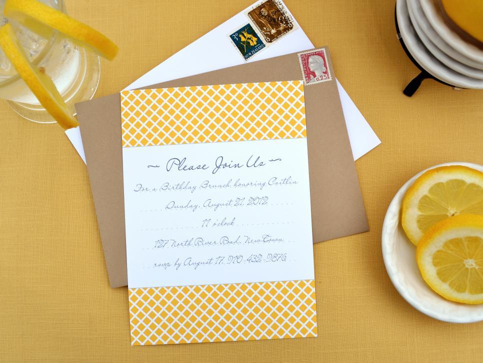 Interior Design: FREE Printable Invites