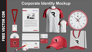 Desain Mockup Corporate Identity CDR