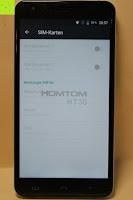 "SIM Karten: HOMTOM HT30 3G Smartphone 5.5""Android 6.0 MT6580 Quad Core 1.3GHz Mobile Phone 1GB RAM 8GB ROM Smart Gestures Wake Gestures Dual SIM OTA GPS WIFI,Weiß"