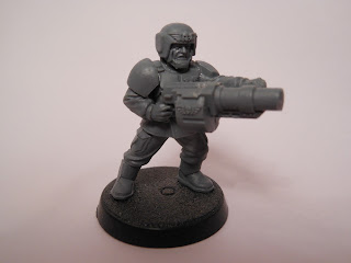 Shadow War: Armageddon cadian kill team special weapons operative with grenade launcher