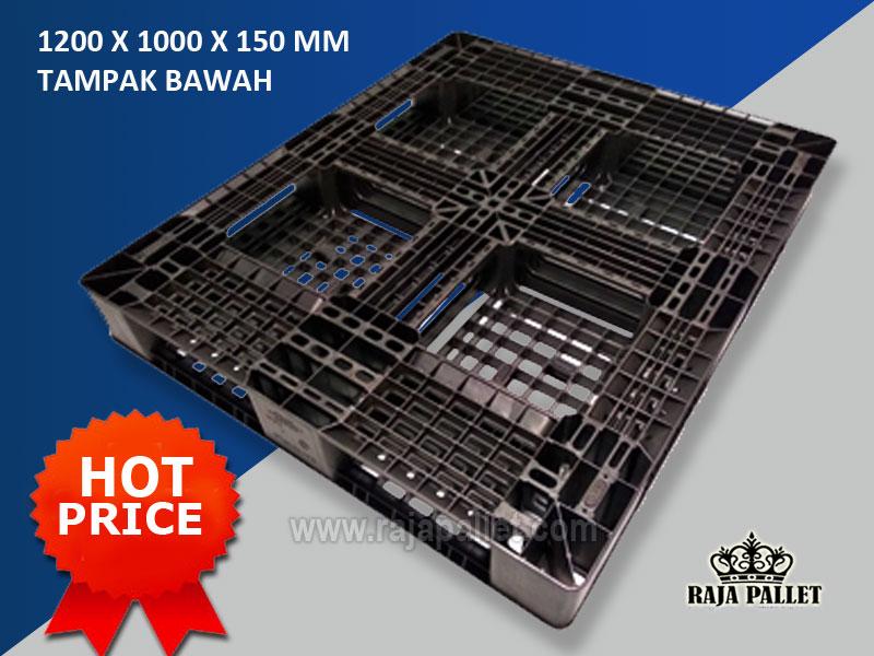 Pallet Plastik 1200x1000x150   Spesifikasi & Harga