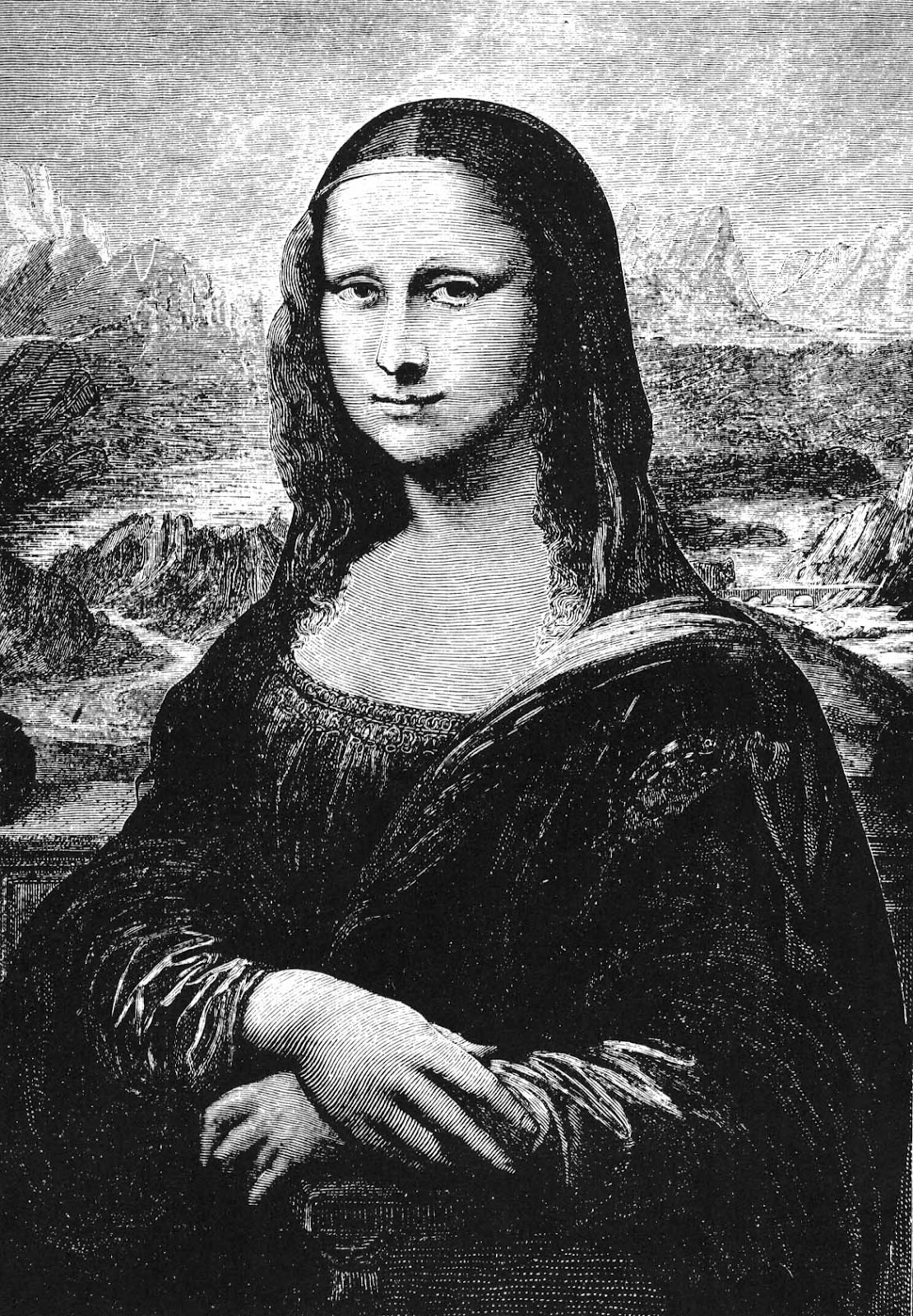 Miss Jeeves: Mona Lisa At The Counter
