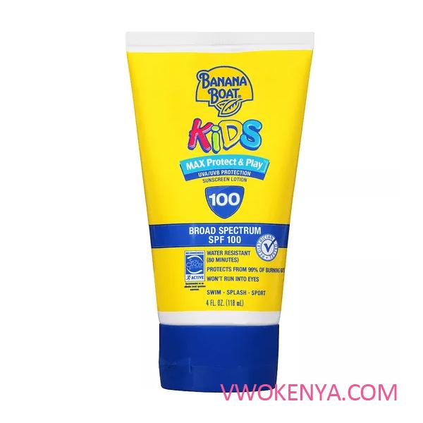 Kem chống nắng Banana Boat Kids Max Protect & Play Lotion Sunscreen