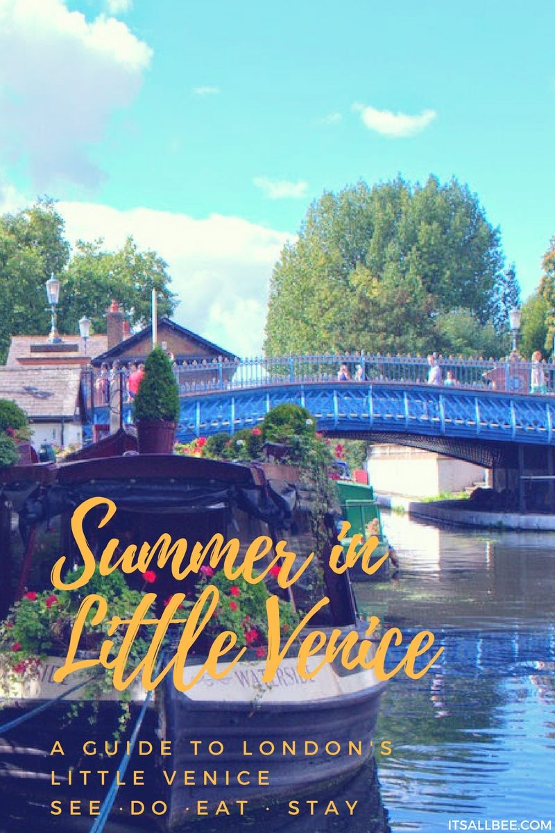 Quick Guide To London's Little Venice | Canals, Boat Trips, Restaurants & Tours