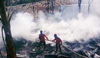 Rumah Warga Toke Desa Kala Donggo Hangus Terbakar, Kerugian Ditaksir Rp100 Juta