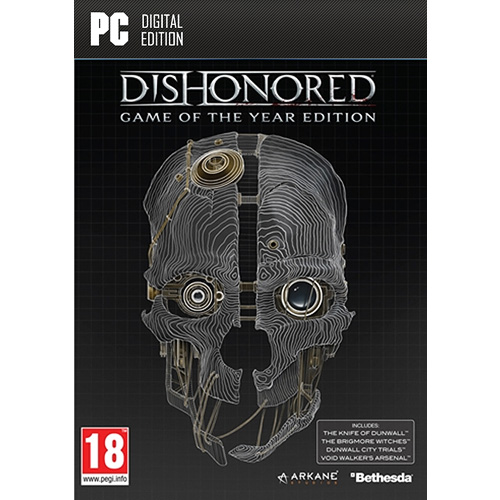 Dishonored Game of the Year Edition N15437 XL - Dishonored Game of The Year Edition