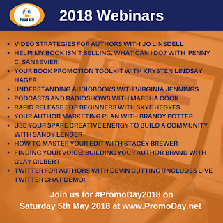 Webinars At #PromoDay2018