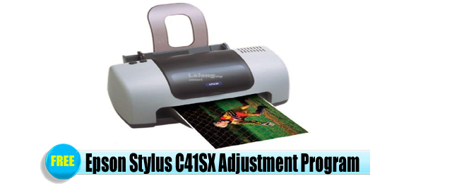 Epson Stylus C41SX Adjustment Program