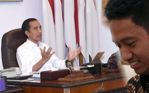 Jokowi Terima Pengunduran Diri Belva, Stafsus Milenial Bos Ruang Guru