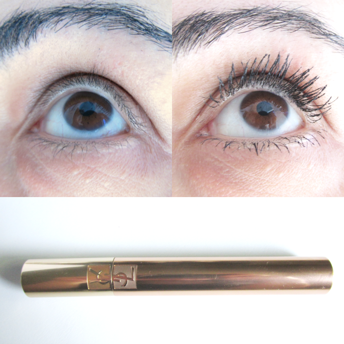 Before & After YSL Volume Effet Faux Cils Mascara