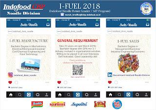 Kesempatan Berkarir di Indofood CBO Bandar Lampung Februari 2018