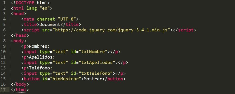 Llenar input HTML con Ajax php y mysql
