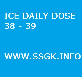 ICE DAILY DOSE 38 - 39