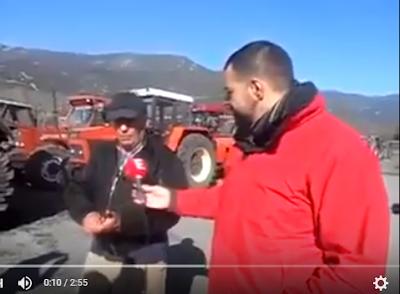 Αγανακτισμένος Αγρότης λέει τα πράγματα με το όνομα τους VIDEO
