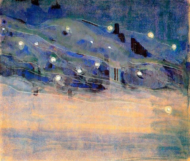 Чюрлёнис Микалоюс Константинас - Искры (III). 1906