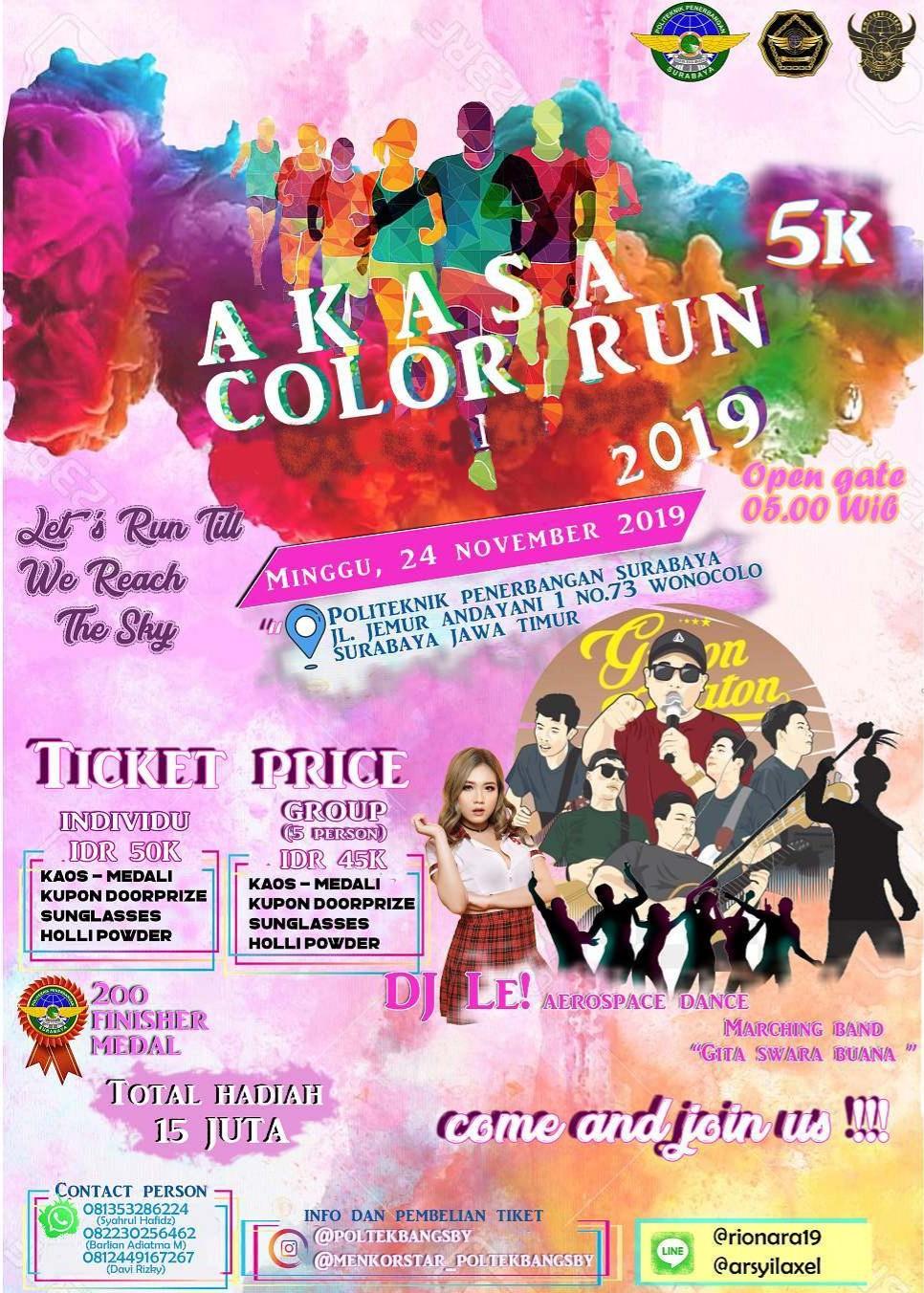 Akasa Color Run • 2019
