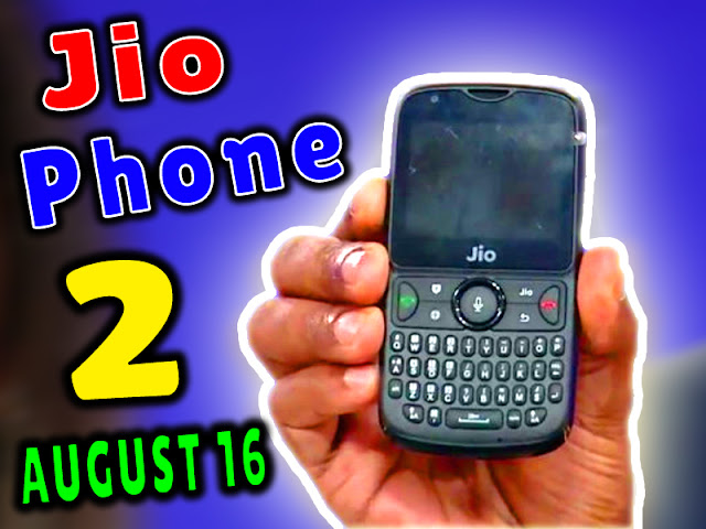 Purchase The Most Waited Jio Phone 2 Handset On August 16 Through Flash Sale
