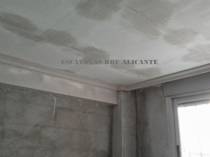 Escayolas bru alicante techos fijos - Precio moldura escayola ...