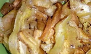 keripik pisang jeruk purut