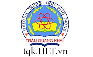 Nội dung học kì 2 môn Địa Lý trường THPT Trần Quang Khải (Năm học 2018-2019)
